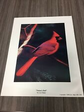 Nature's Red by Leo Stans 1999 Print Auction Finds 702