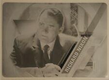 2016 Doctor Who Timeless Historical Figures Printing Plate Richard Nixon 1/1