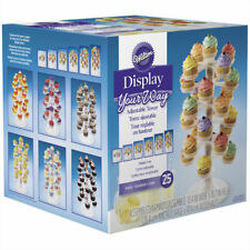Wilton 25 Holder Adjustable Cupcake Tower Stand Party Fillable Center Decorating