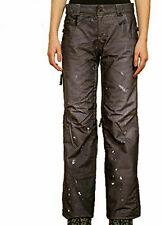 686 Limited 55DSL Cigarette Snowboard Pant (M) Black Denim