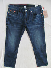 True Religion Skinny Jeans-Medium Wash Whiskers- Falcon Claw-Size 38/40-NWT $199