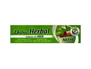 Dabur Herbal Neem Toothpaste Herbal Zahnpasta mit Neem 155g
