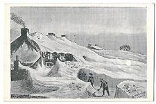 Derbyshire, Devonshire Arms, Sparrowpit, Unusual Snowfall PPC, Unposted