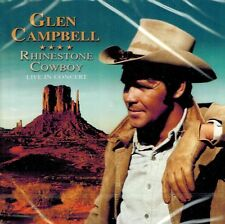 MUSIK-CD NEU/OVP - Glen Campbell - Rhinestone Cowboy - Live In Concert