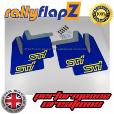 Impreza WRX / STI Mud Flaps Mudflaps 01-07 Bugeye Blobeye Hawkeye - BLUE (SY)