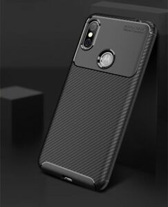 Handyhülle elegant Carbonoptik Motorola One TPU Schwarz