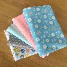 COTTONTAIL Fat Quarter Bundle {D} 100% cotton by Threaders Floral Pastel Fabric