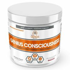 GENIUS CONSCIOUSNESS - Super Nootropic Brain Booster Supplement - Enhance Foc...