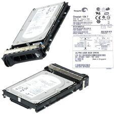 """DELL 0FC960 HDD 73GB 10K ULTRA320 SCSI 80-PIN ST373207LC 3.5"""""""
