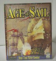Talon Soft Age of Sail PC Game Windows 3.1 95 CD Rom Factory Sealed