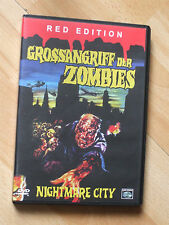 Grossangriff Der Zombies, Nightmare City DVD, RARE Laser Paradise, Umberto Lenzi