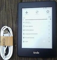 Amazon Kindle Paperwhite 1st/5th Generation, Wi-Fi, Black, SCRATCH & DENT.