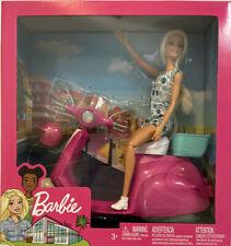 Barbie Doll & Pink Vespa Scooter Blonde Hair 12� European Version Gift Set