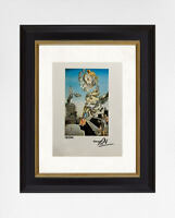 Salvador Dali 1974 Original Print, Hand Signed with Certificate of Authenticity