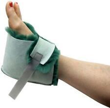 Medical Sheepskin Heel Protector Boot Green Sheep Skin Wool Foot Pressure Pad