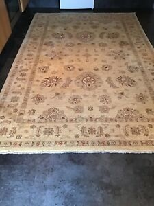 ZEIGLER, LARGE,  8' x 5', BRAND NEW,  HAND-KNOTTED, HAND-SPUN WOOL...FREE DEL.