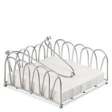 Chrome Wire Towel Serviette Titulaire Distributeur Cuisine Salle à Manger Table Decor