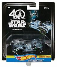 Authentic Star Wars Hot Wheels Carships 40th Anniversary Tie Fighter Vehicle Car
