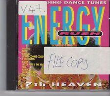 (GA241) Energy Rush, 7th Heaven - 1994 CD