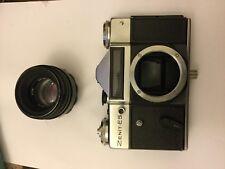 ZENIT-ES PhotoSniper Soviet Russian SLR Camera Withe HELIOS -44-2 lens