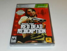 Red Dead Redemption Microsoft Xbox 360 Video Game New Sealed