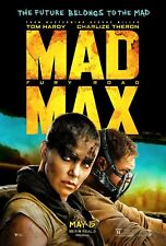 Mad Max Fury Road 2015 Original D/S 27x40 Theatrical Advance Poster Tom Hardy