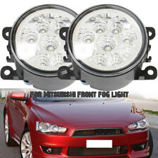 2x LED FRONT FOG LIGHT LAMPS For MITSUBISHI L200 K74 2001-2006 Outlander UK