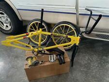 1979 Roger DeCoster yellow bmx vintage old school racing bike Lester wheels