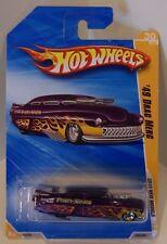 Hot Wheels 2010 New Models '49 Drag Merc Purple Forty-Niner Lead Sled
