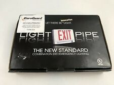 Exit Sign Withemergency Light Pipe