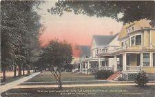 New York NY Postcard DUNKIRK Chautauqua County 1912 WASHINGTON Ave Homes 18