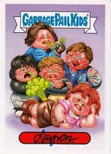 GARBAGE PAIL KIDS WE HATE THE 80'S ARTIST AUTOGRAPH DEJARNETTE BREAKFEST CLUB