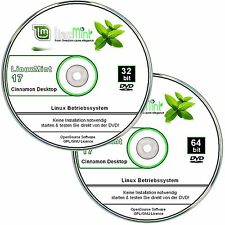 Linux Mint 17.2     32 bit+64 bit Version, Betriebssysteme    ✔ 2er DVD Set