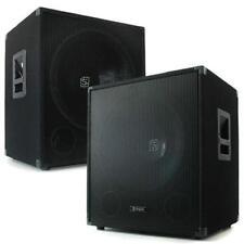 "SKYTEC PACK PA DJ 2x ALTAVOZ SUBWOOFER 45CM 1000W BASS CAJA 18"" 2x 250W RMS"