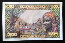 Equatorial African States, Central Bank, 500 Francs ND (1963), P-4e, B202e, AU+