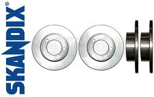 Brake rotor front, set of two - all Volvo 122, P1800 one brake circuit system