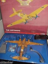 Corgi Aviación AA33708 Luftwaffe Heinkel He-111H-6,Derna, Libia 1941,1:72 Escala