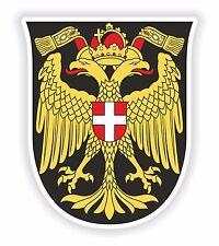 Vienna Coat of Arms Bumper Sticker Laptop Tablet Car Truck Locker Book Door Bike