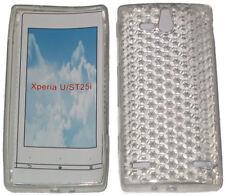 Patrón caso Protector De Gel Suave Cubierta Para Sony Ericsson Xperia U ST25i Claro UK