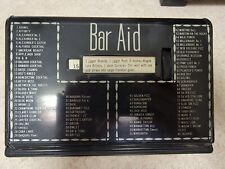 Vintage 1950's Bar Aid cocktail Roladex
