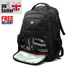 Swiss Gear Backpack DSLR SLR TLR Digital Camera Bag 16 inch Laptop Backpack-A