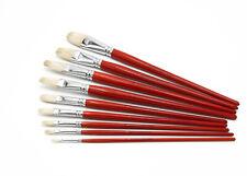 Ölmalpinsel aus hochwertiger Chunking-Borste, Künstlerpinsel, Öl- & Acrylfarbe