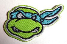 """LEONARDO Teenage Mutant Ninja Turtles 3.5"""" Cartoon Patch-FREE S&H (TMNTPA-07)"""