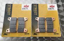 2 x sbs 809 HS plaquette de frein HONDA CBR 1000 rr sc57, sc59, agglomération métal Brake pads