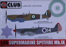 +++ SUPERMARINE SPITFIRE Mk.IX CLUB SPECIAL + 1/48 SCALE KIT by AIRFIX +++