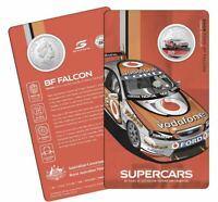 2020 SUPERCARS Ford BF Falcon  Racing 60 Years ATCC 50c Coin Carded