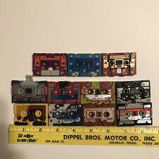G1 Transformers Cassette Lot Of 10 Grandslam Squawktalk Beastbox Vintage Hasbro