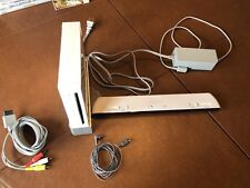 Nintendo Wii Console, accessories, and Game Lot