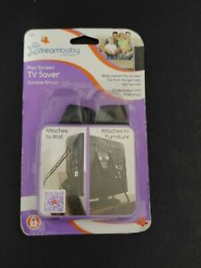 Dreambaby L860A FLAT SCREEN TV SAVER Child Safety Anti Tip Tipping Over STRAPS