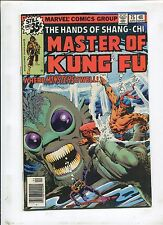 MASTER OF KUNG-FU #75 (7.0) WHERE THE MONSTERS DWELL!